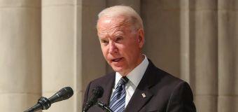 Biden drops subtle hint while giving GOP senator's eulogy
