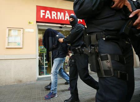 Vinculan a algunos detenidos en Cataluña con los atentados de Bruselas