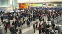 Big Chill Grounds Thousands of Flights