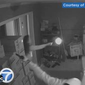 Woman's dramatic shooting of armed home invaders caught on video