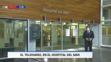 TVE, sublime en su último Telediario con el plató en un hospital, consigue lo 'imposible': que todos le aplaudan