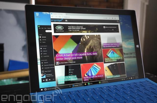Windows 10's latest preview sends web videos to your TV