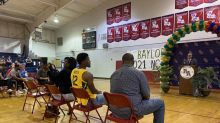 Baylor star Jared Butler gets his number retired at Riverside Academy: 'He was always special'