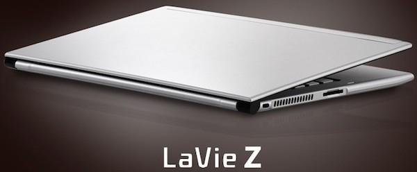 NEC reveals LaVie Z Ultrabook will ship with third-gen Intel chips, 1600 x 900 screen resolution