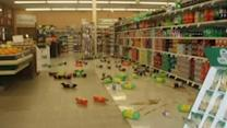 Damage reported from magnitude-5.7 quake in Calif.
