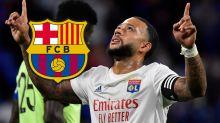 Garcia évoque les rumeurs de départ au Barça de Depay