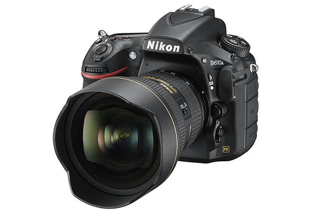 Nikon's D810A DSLR is designed for shooting stars