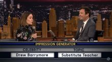Watch Sarah Paulson's Amazing Drew Barrymore and Holly Hunter Imitations on 'Wheel of Impressions'
