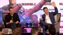 Ryan Reynolds y Josh Brolin nos toman el pelo en la presentación de Deadpool 2