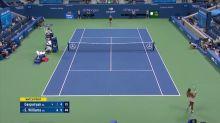 US Open: Serena mit Stil, Murray ohne jede Chance