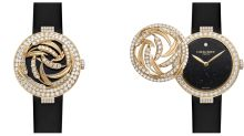 Chaumet's newest 18k yellow gold watch is a sight to behold