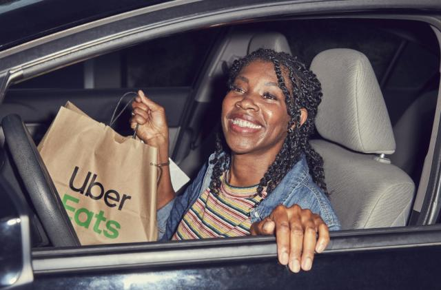 Uber encourages drivers in the US to do food delivery