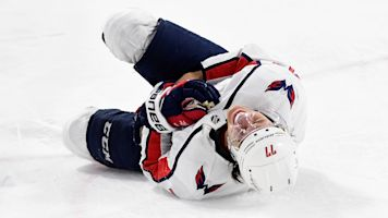 Ovechkin says 'dirty play' injured teammate