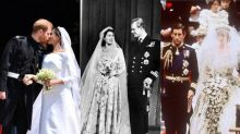 Royal weddings through the years, from Meghan and Harry to Charles and Diana
