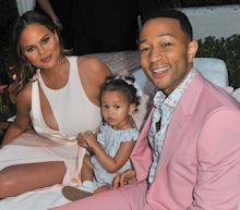 How Chrissy Teigen and John Legend, Jessica Simpson, Madonna, and More Celebrities Celebrated Easter at Home