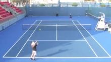 Tennis player fails to win single point in rare 'golden match'