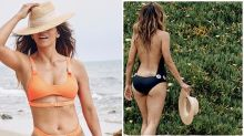 Halle Berry, 54, stuns in backless swimsuit: 'Back at the beach'