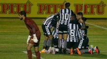 Versatilidade: Botafogo apresenta mudanças de posição no próprio jogo