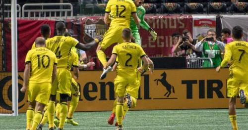 Foot - MLS - Demi-finale aller des play-offs de la MLS : le Columbus Crew assomme New York City