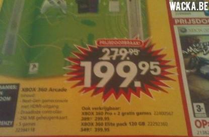 Euro Xbox 360 price cuts landing Monday says paper