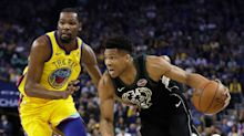 Giannis says don't put him with K.D. and LeBron just yet: 'I want to feel like I always have somebody to chase'