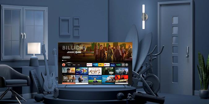 Image of Amazon's first US homegrown TV, the Omni.
