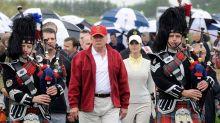 Bad blood over golf course stalks Trump's Scotland trip