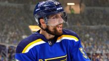 Blues' Perron to miss first-round opener vs. Avs