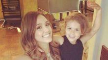Jessica Alba shares her No. 1 tip for new moms