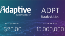Adaptive Biotechnologies starts trading today