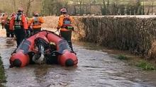 Rescue Crews Respond to Flooding After Storm Dennis Drenches Worcestershire
