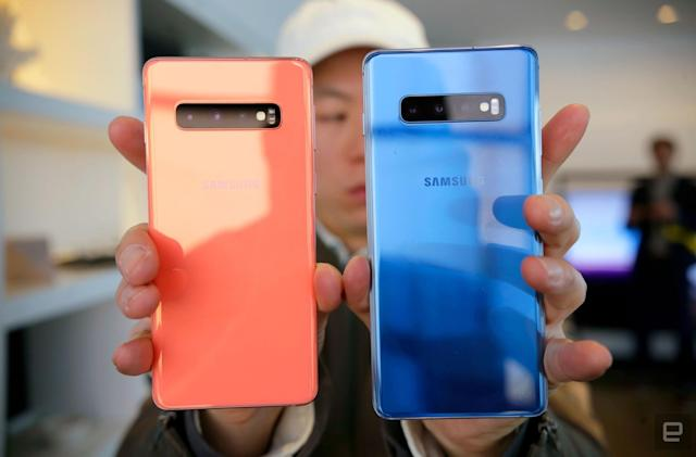 The biggest news from Samsung's Galaxy S10 event