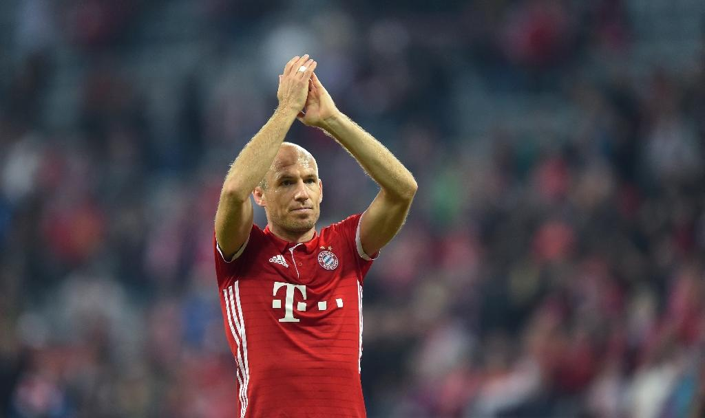 Robben wants Bayern extension - father