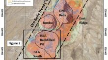 Drilling Through Backfill Material in the JSLA Pit Intersects 0.46 g/t Gold Over 155.4 Metres Including 1.94 g/t Gold Over 18.3