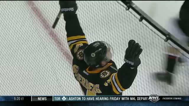 Carl Soderberg scores first NHL goal