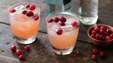 Cocktail of the Week: Cranberry Vanilla Gin Spritzer