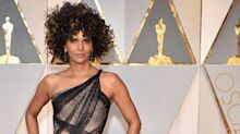 Halle Berry went for a skinny dip after the Oscars