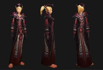 Outline reputation set- Priest (Holy): Mooncloth Battlegear