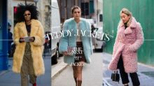 人人都可以做泰迪熊!Pinterest 數據顯示,這種「 Teddy Jacket 」將成 2017 秋冬大熱!