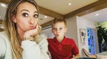 Hilary Duff admits her 2nd grade son's homework terrifies her