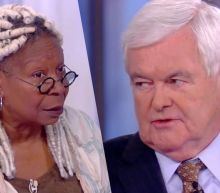 Newt Gingrich and Whoopi Goldberg Go at It Over Trump's 'Lynching' Comments