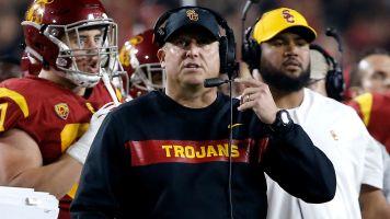 USC coach feels like his job is safe
