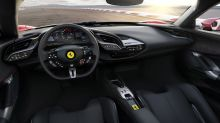 Take a peek inside the cockpit of the Ferrari SF90 Stradale