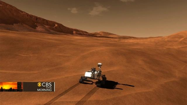 Mars rover Curiosity completes first test drive