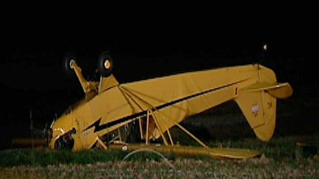 Small plane crashes in Johnston County