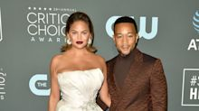 Chrissy Teigen and John Legend Arrived at the Critics' Choice Awards With Major Hangovers
