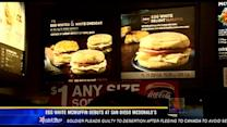 Egg white McMuffin debuts at San Diego McDonald's