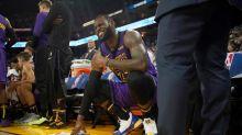 NBA/詹皇右側腹股溝又開始痠痛 湖人4將出現在傷兵名單