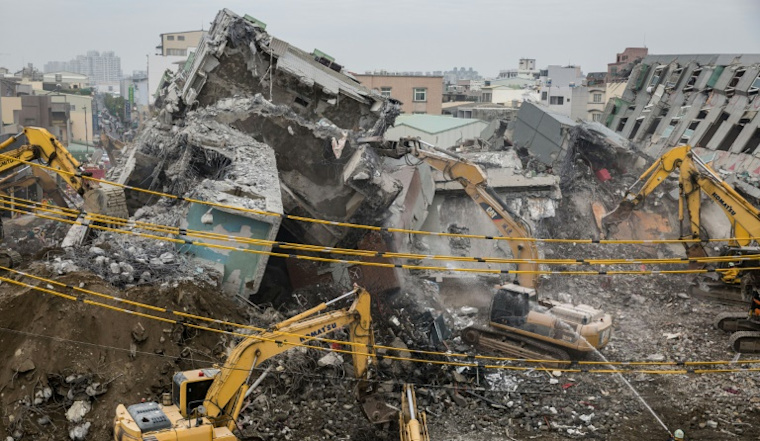 Calls for safety overhaul in Taiwan after quake disaster