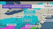 More snow coming for Northeast